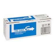 Фото Картридж лазерный Kyocera TK-580C голубой, для FS-C5150DN (2 800 стр) 1T02KTCNL0