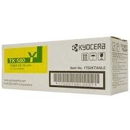 Фото Картридж лазерный Kyocera TK-580Y желтый для FS-C5150DN (2 800 стр) 1T02KTANL0