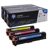 Картридж лазерный HP CF373AM 125A комплект цветных картриджей для CP1215/1515 (CB541A+CB542A+CB543A)
