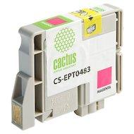 Фото Картридж струйный Cactus CS-EPT0483 совместимый пурпурный для Epson Stylus Photo R200/ R220/ R300 (14,4ml)
