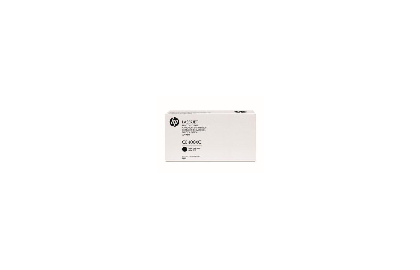 Картридж лазерный HP CE400X  507X черный CLJ M551 (11 000 стр)