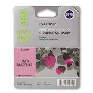 Картридж струйный Cactus CS-EPT0596 совместимый светло-пурпурный для Epson Stylus Photo R2400 (14,8ml)