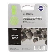 Картридж струйный Cactus CS-EPT0598 совместимый черный матовый для Epson Stylus Photo R2400 (14,8ml)