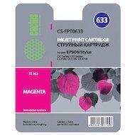 Картридж струйный Cactus CS-EPT0633 совместимый пурпурный для Epson Stylus C67 Series/C87 Series/CX3700 (10ml)