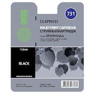 Картридж струйный Cactus CS-EPT0731 совместимый черный для Epson Stylus С79/ C110/ СХ3900/ CX4900/ CX5900 (11,4ml)