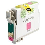Фото Картридж струйный Cactus CS-EPT0733 совместимый пурпурный для Epson Stylus С79/ C110/ СХ3900/ CX4900 (11,4ml)