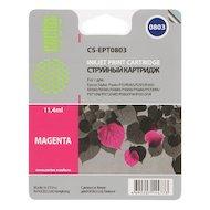 Картридж струйный Cactus CS-EPT0803 совместимый пурпурный для Epson Stylus Photo P50 (11,4ml)