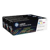 Картридж лазерный HP CF370AM  305A голубой/пурпурный/желтый CLJ M451 (CE411A+CE412A+CE413A)