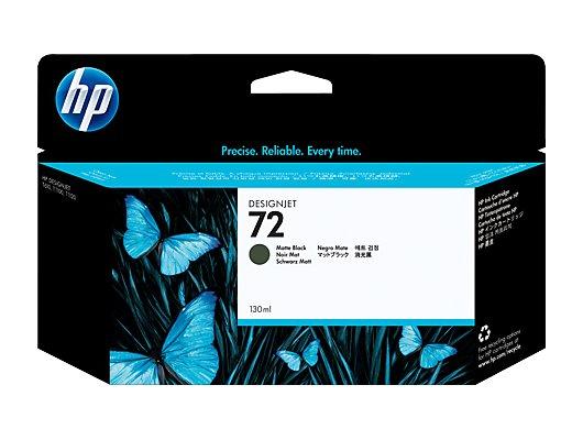 Картридж струйный HP C9403A N72 black matt 130 ml