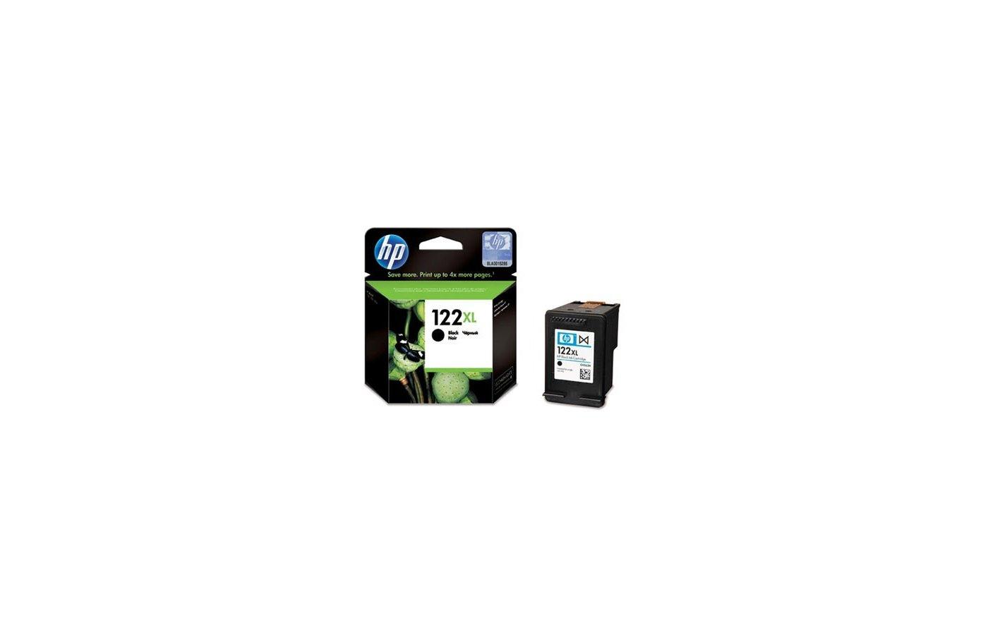 Картридж струйный HP CH563HE 122XL Black для Картридж HP DJ 1050 / 2050 / 2050s (повышенной ёмкости)