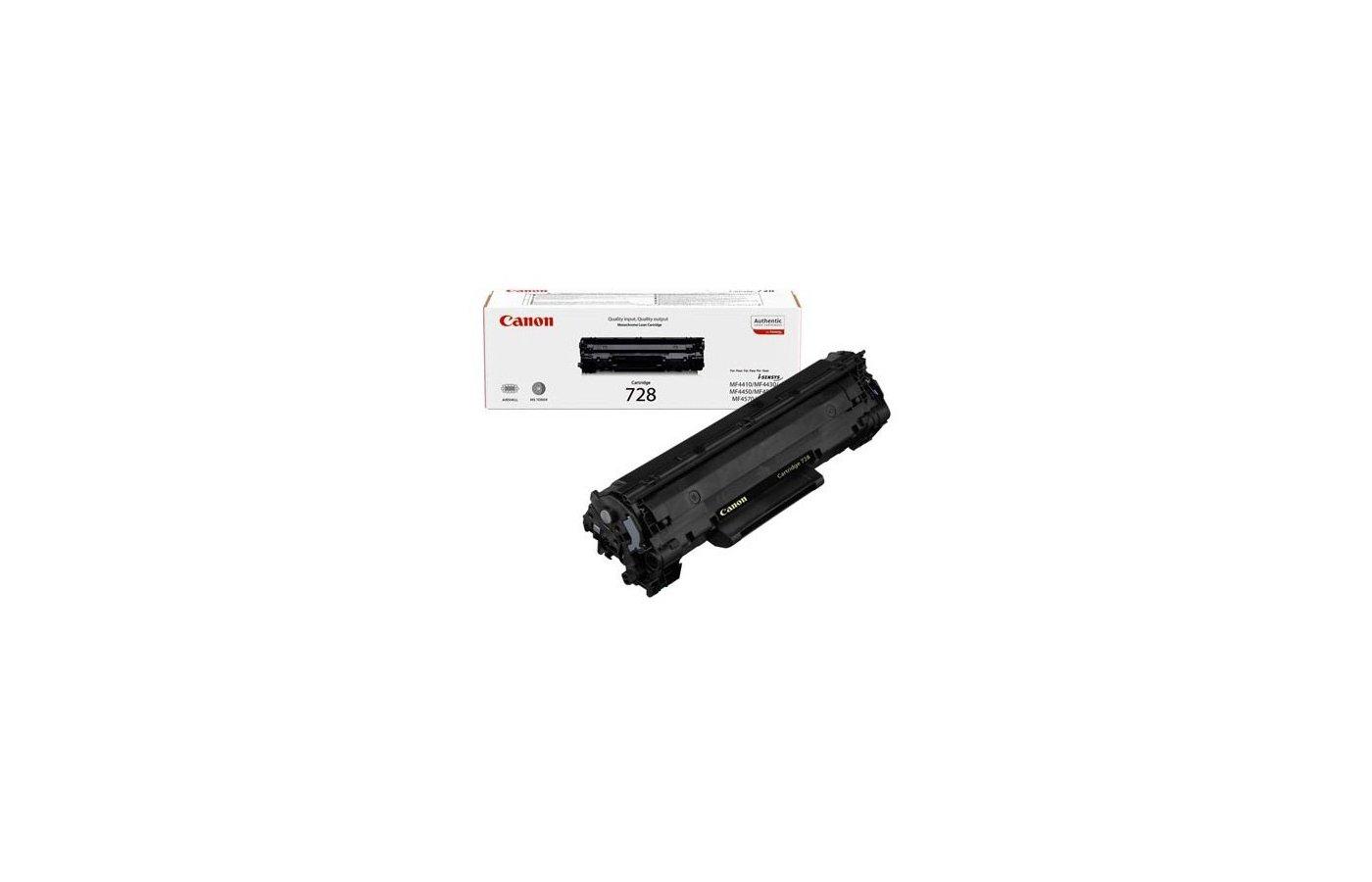 Картридж лазерный Canon 728 3500B010 для MF4580dn (2 100 стр) (нов. упаковка)