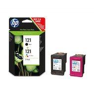 Фото Картридж струйный HP 121 CN637HE черный/трехцветный для Deskjet D2500, HP Deskjet D2530, HP DeskJet F4200