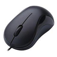 Фото Мышь проводная Oklick 115S черный оптическая (1000dpi) USB для ноутбука (2but)