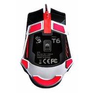 Фото Мышь проводная A4Tech Bloody T6 Winner черный/серый оптическая (4000dpi) USB2.0 игровая (8but)