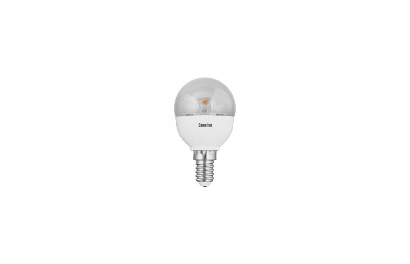 Лампочки LED Camelion LED5.5-G45-CL/830/E14 (Эл.лампа светодиодная 5.5Вт 220В)
