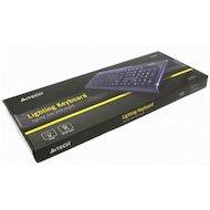 Фото Клавиатура проводная A4Tech KD-800L черный USB slim Multimedia