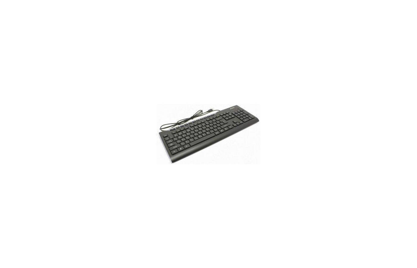Клавиатура проводная A4Tech KD-800L черный USB slim Multimedia