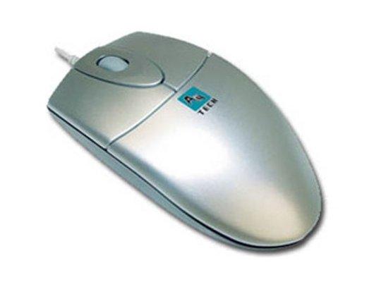 Мышь проводная A4Tech OP-720 3D серебристый оптическая (800dpi) USB (2but)