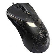Фото Мышь проводная A4Tech V-Track F4 черный оптическая (3000dpi) USB игровая (6but)