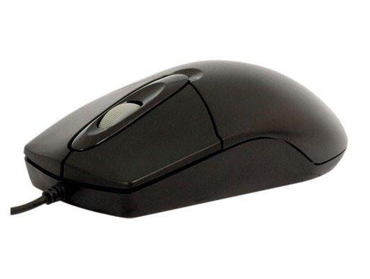 Мышь проводная A4Tech OP-720 3D черный оптическая (800dpi) USB1.1 (2but)