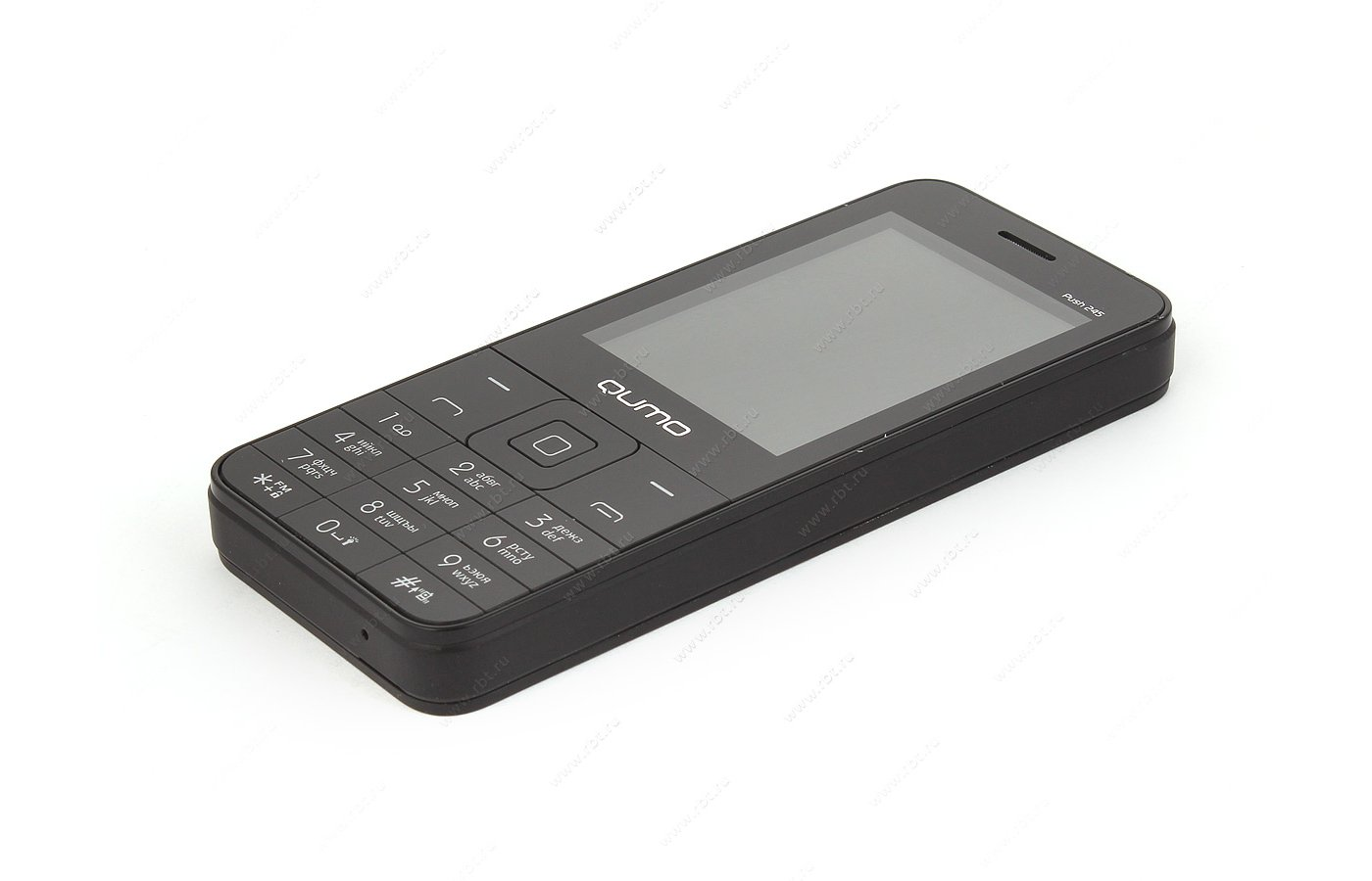 Мобильный телефон QUMO Push 245 Black
