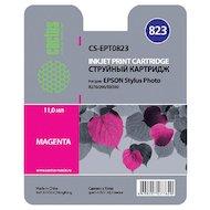 Картридж струйный Cactus CS-EPT0823 совместимый пурпурный для Epson Stylus Photo R270/290/RX590 (11,4ml)
