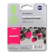 Картридж струйный Cactus CS-EPT0873 совместимый пурпурный для Epson Stylus Photo R1900 (13,8ml)