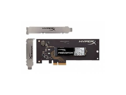 SSD жесткий диск Kingston PCI-E x2 480Gb SHPM2280P2H/480G HyperX
