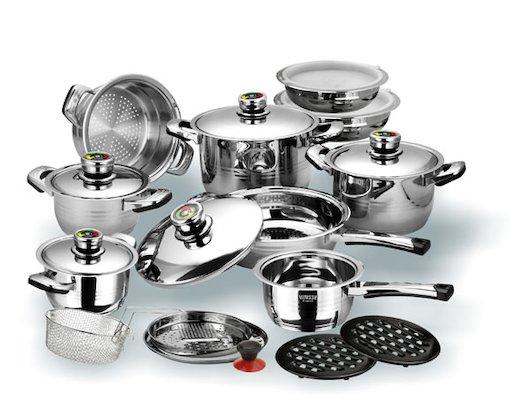 Набор посуды  VITESSE VS-1003 23 пр н/ст