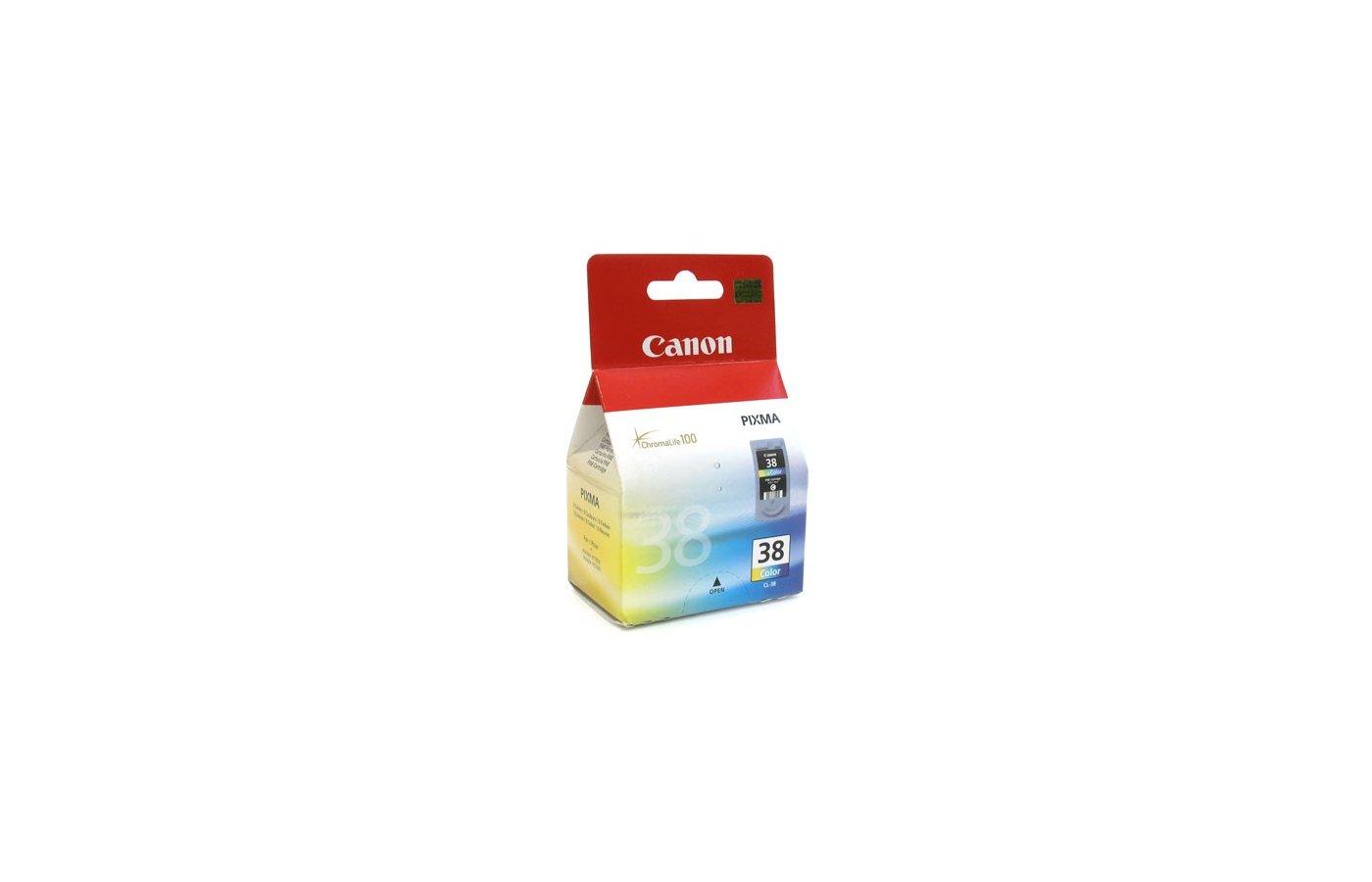 Картридж струйный Canon CL-38 цветной