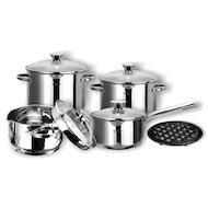 Фото Набор посуды  VITESSE VS-1029 Набор посуды 9 пр н/ст