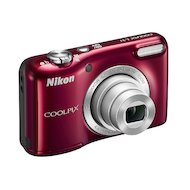 Фото Фотоаппарат компактный Nikon Coolpix L31 red