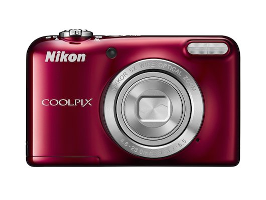 Фотоаппарат компактный Nikon Coolpix L31 red