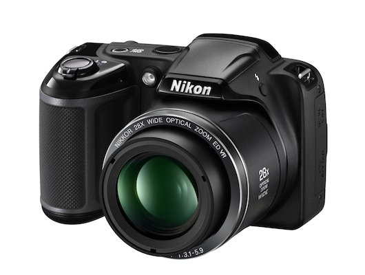 Фотоаппарат компактный Nikon Coolpix L340 black