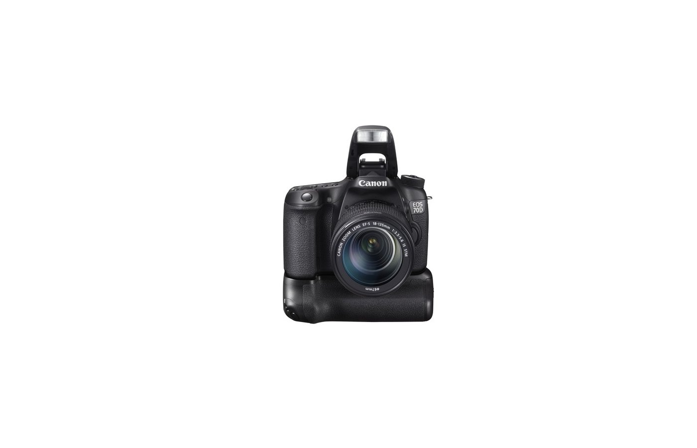 Фотоаппарат зеркальный CANON EOS 70D kit 18-135 STM
