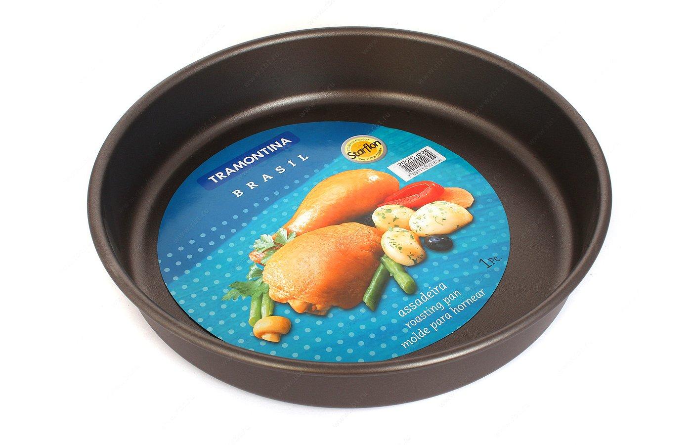 Форма для выпечки металлическая Tramontina 20057/026 Brasil d26 глубина 5 см 874-113