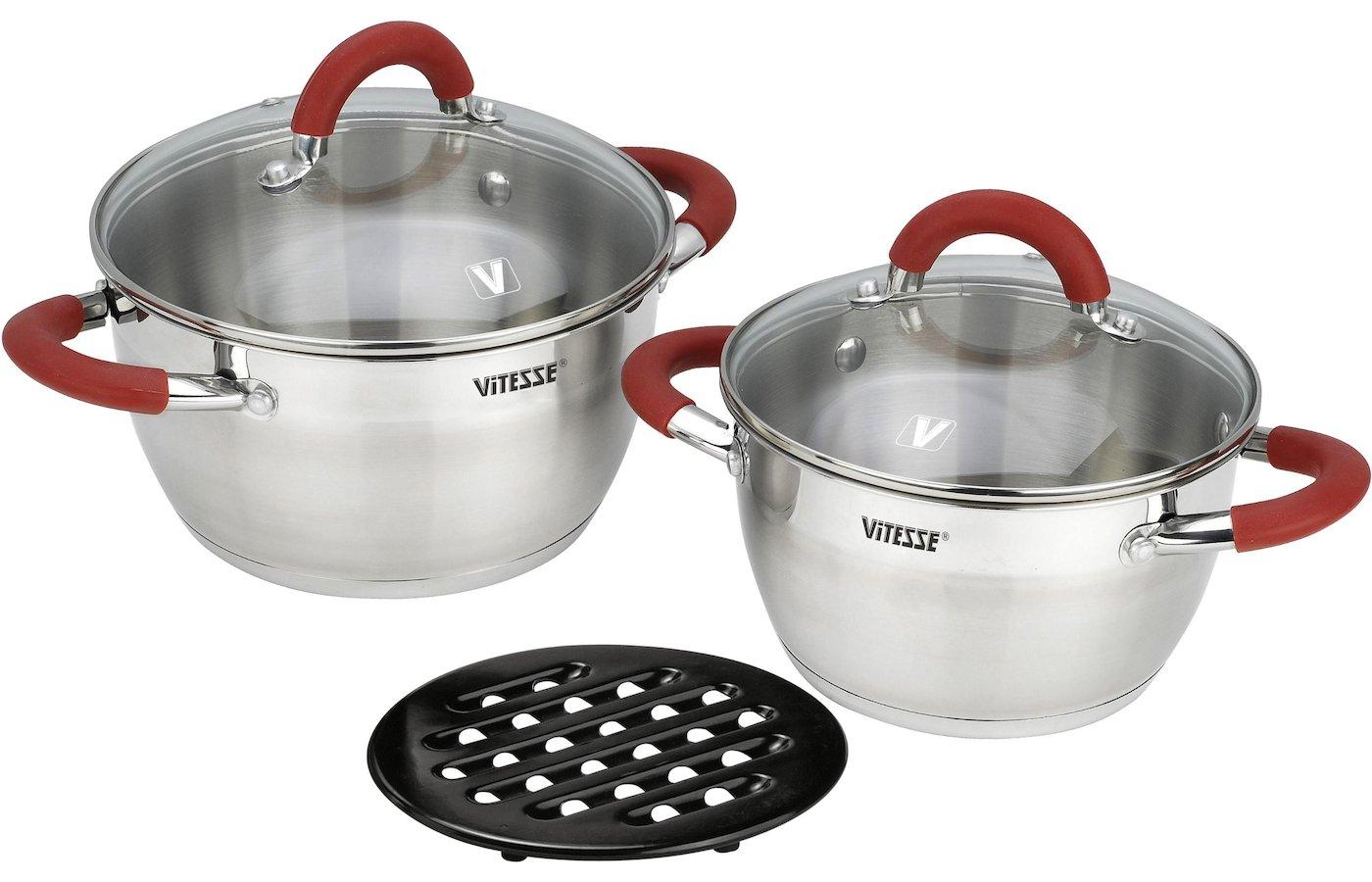 Набор посуды  VITESSE VS-2000 Набор посуды 5 пр