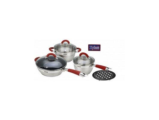 Набор посуды  VITESSE VS-2002 Набор посуды 7 пр н/ст