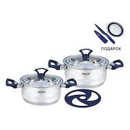 Фото Набор посуды  VITESSE VS-2026 Набор посуды 5 пр н/ст