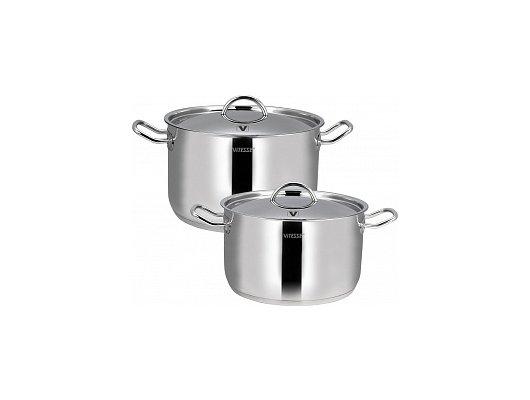 Набор посуды  VITESSE VS-2013 Набор посуды 7 пр н/ст