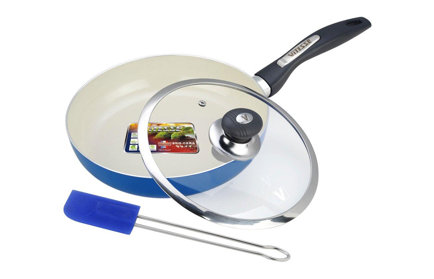 Сковорода VITESSE VS-2201 Сков с крыш 24 см кер.покр