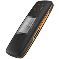 МР3 плеер Digma U3 4Gb черный/оранжевый