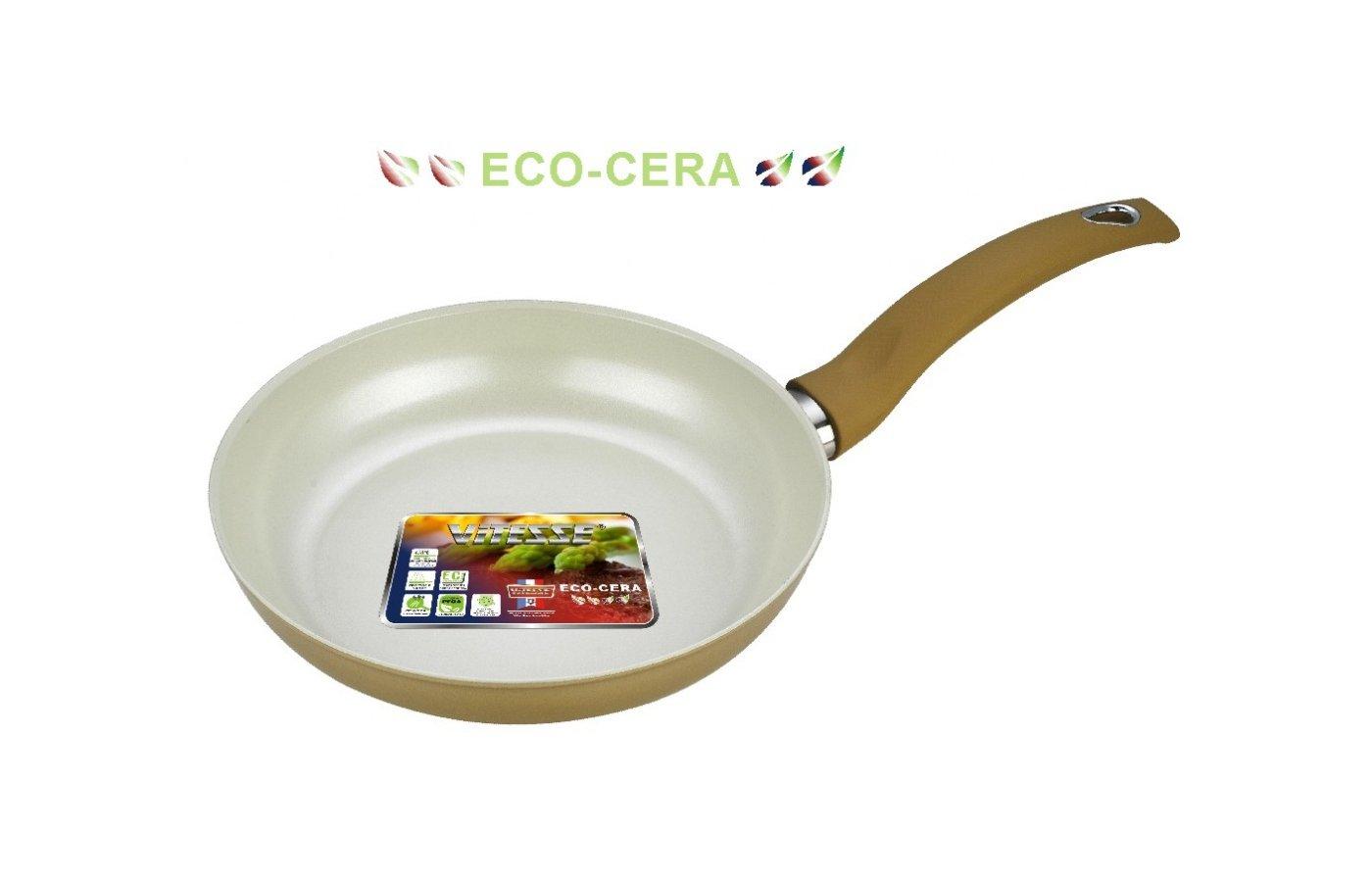 Сковорода VITESSE VS-2236 Сков 24 см кован. алл керам покр