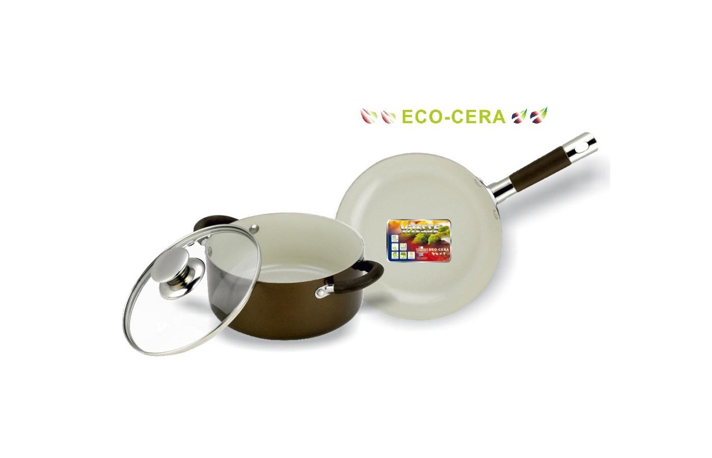 Набор посуды  VITESSE VS-2239 Набор посуды 3 пр алюм