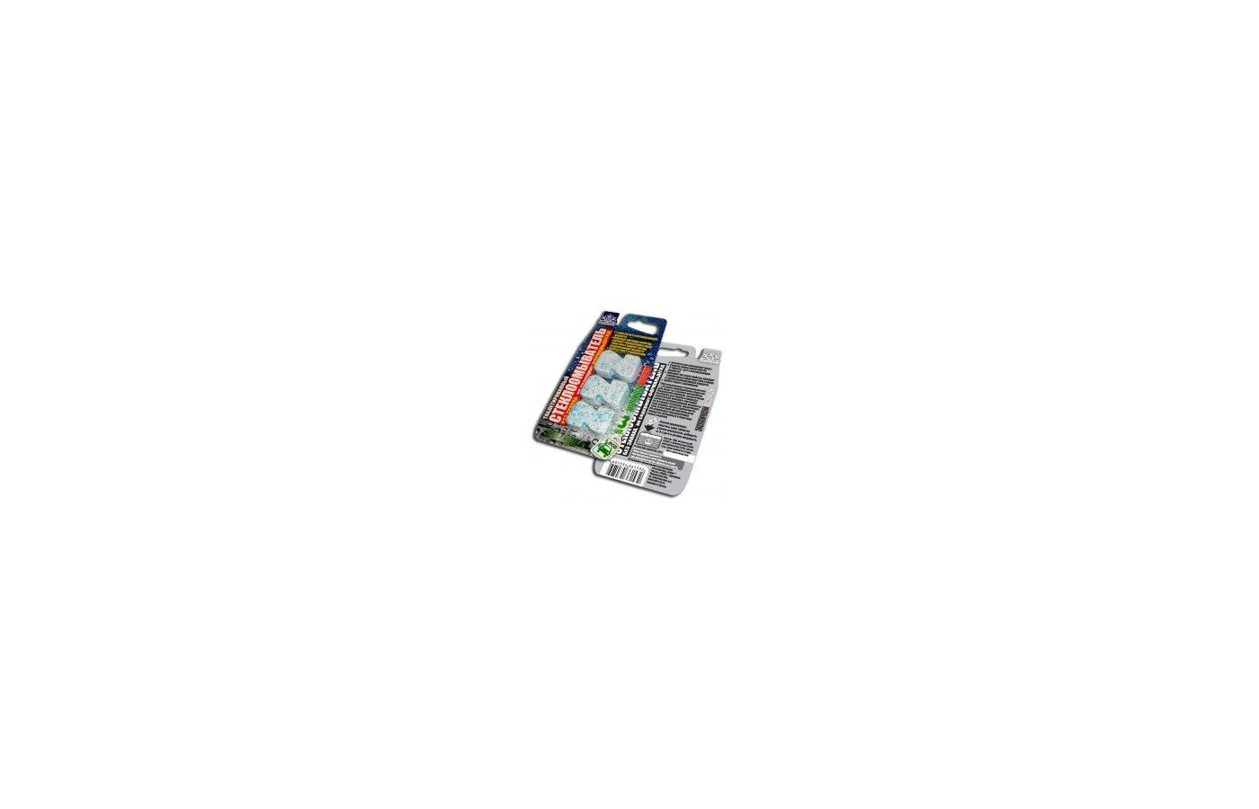 Автохимия ЗЕБРА ТМ 1532 Таблетированный стеклоочиститель зимний 3 таблетки/блтистер
