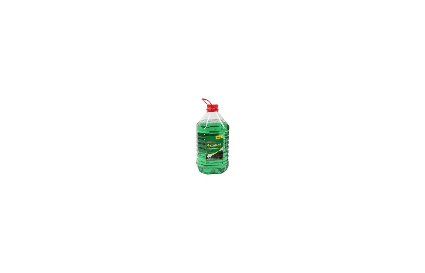 Автохимия Effect Plus Жидкость стеклоомывающая Мухомой 5л