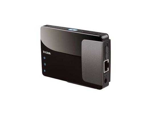 Сетевое оборудование D-Link DAP-1350/E 802.11b/g/n  Wireless Pocket N  3G поддержка USB