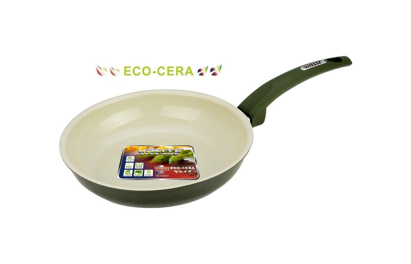 Сковорода VITESSE VS-2244 Сков 24 см кован. алл керам покр