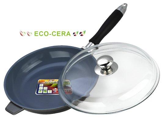 Сковорода VITESSE VS-2271 Ск с/крыш, с/руч24см керам.