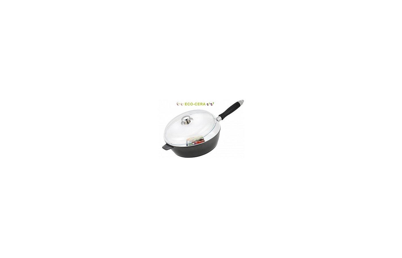 Сковорода VITESSE VS-2263 Сков 24 см лит.аллюм. керам покр